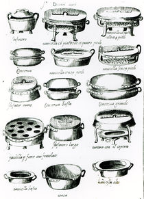 Various Cooking Vessels, 1570 by Italian School