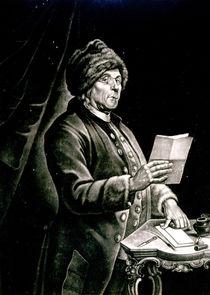 Portrait of Benjamin Franklin von Charles Nicolas II Cochin