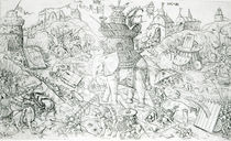 Elephants at War von Alart du Hameel