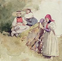 Three Females von Richard Parkes Bonington