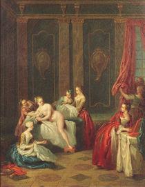 Bathroom Interior by Jean-Baptiste Joseph Pater