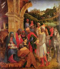 The Adoration of the Kings von Vincenzo Foppa