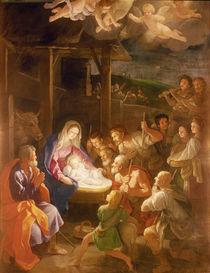 The Nativity at Night, 1640 von Guido Reni