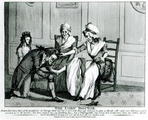 The Corn Doctor, 1793 von English School