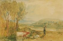 Lulworth Castle, Dorset, c.1820 by Joseph Mallord William Turner