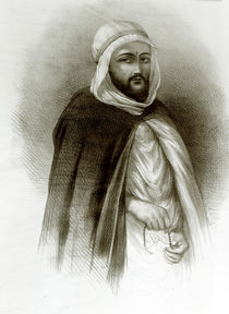 Portrait of Abd El-Kader by Auguste Bry