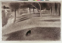 Study for Sunday Afternoon on the Island of La Grande Jatte by Georges Pierre Seurat