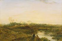 Evening, Bayswater, 1818 von John Linnell