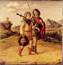 David and Jonathan, c.1505-10 von Giovanni Battista Cima da Conegliano