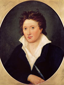 Portrait of Percy Bysshe Shelley von Amelia Curran