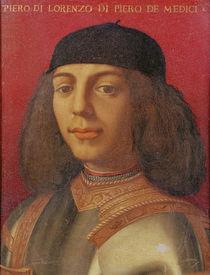 Portrait of Piero di Lorenzo de Medici by Agnolo Bronzino