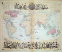 British Empire throughout the World by English School