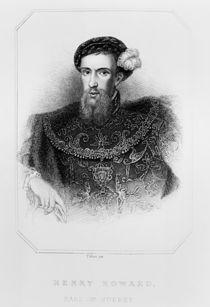 Portrait of Henry Howard Earl of Surrey by English School