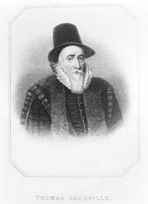 Portrait of Thomas Sackville 1st Earl of Dorset von John de Critz