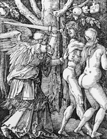 The Expulsion from Paradise by Albrecht Dürer
