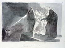 Macbeth and the Armed Head von Henry Fuseli