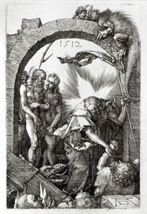 Harrowing of Hell or Christ's descent into Limbo by Albrecht Dürer