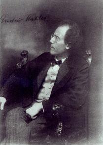 Portrait of Gustav Mahler, c.1907 by Austrian Photographer