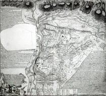 Plan of the Battle of Minden by English School