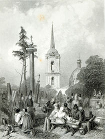 Cemetery of the Smolensko Church von Alfred Vickers