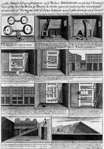 Shepherd's escape form Newgate Prison von English School