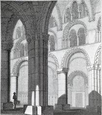 View of Durham Cathedral Nave von English School