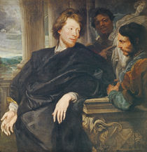 Portrait of Rubens by Anthony van Dyck