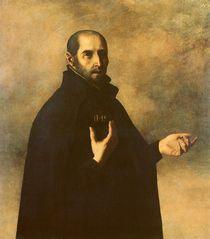 St.Ignatius Loyola von Francisco de Zurbaran