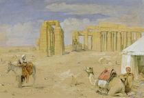 The Ramesseum at Thebes, c.1850 by John Frederick Lewis