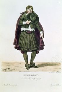 Ducroisy in the title role of Tartuffe in 1668 von Hippolyte Lecomte