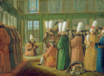 The Grand Vizier giving Audience to the English Ambassador von Francis Smith
