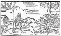 Month of September, from 'The Shepheardes Calender' by Esmond Spenser by English School