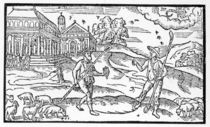 Month of October, from the 'Shepheardes Calender' by Edmund Spenser by English School