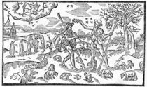 Month of November, from 'The Shepheardes Calender'by Esmond Spenser by English School