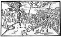 Month of August, from 'The Shepheardes Calender' by Edmund Spenser by English School