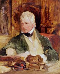 Portrait of Sir Walter Scott von Edwin Landseer