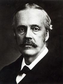 Portrait of Arthur James Balfour von English Photographer