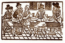 A Meal at the Inn by English School