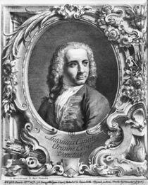 Portrait of Antonio Canaletto von Giambattista Piazzetta