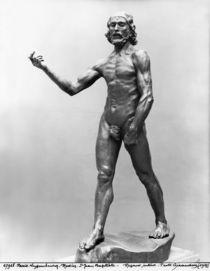 St. John the Baptist, 1878-80 von Auguste Rodin