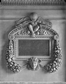 Cartouche from the Caryatids' Tribune by Adolphe Giraudon
