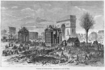 Demolition of the Paris barriers von Felix Thorigny