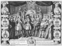 Birth of Louis, Dauphin of France by French School