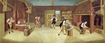 The Forge, c.1750 von English School