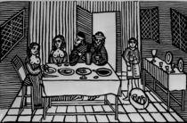 An Elizabethan Whore House von English School
