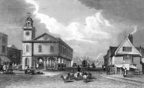 View of Faversham, Kent, 1832 von Thomas Mann Baynes