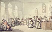 The Pump Room, from 'Scenes at Bath' von Thomas Rowlandson