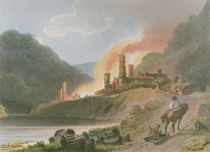 Iron Works, Coalbrook Dale by Philippe de Loutherbourg