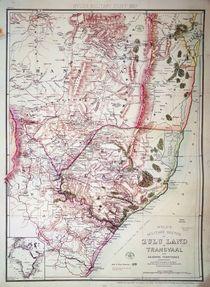 Wyld's Military Sketch of Zululand von James the Elder Wyld