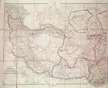 Map of Central Asia, 1834 by John Arrowsmith